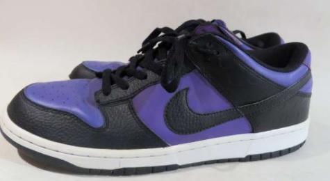NIKE DUNK LOW '08 BLACK/PURPLE