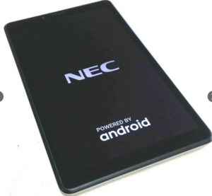 NEC タブレット Android端末 PC-TE507KAS